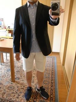 「上質なショートパンツ」&「新型のクールジャケット」 ~ コットン&リネン祭り! 編_c0177259_22232161.jpg