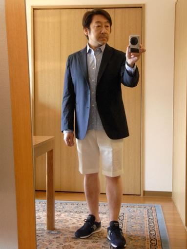 「上質なショートパンツ」&「新型のクールジャケット」 ~ コットン&リネン祭り! 編_c0177259_22242234.jpg