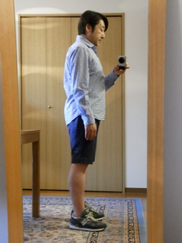 「上質なショートパンツ」&「新型のクールジャケット」 ~ コットン&リネン祭り! 編_c0177259_2243423.jpg