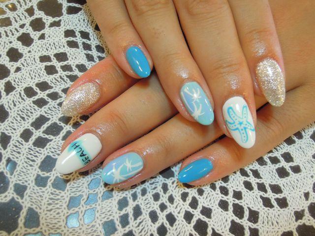 Summer Nail_a0239065_17332569.jpg