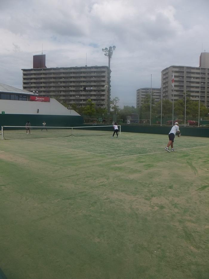 ◆今、テニスが熱い ~マリンテニスパーク北村での試合~_f0238779_75322.jpg