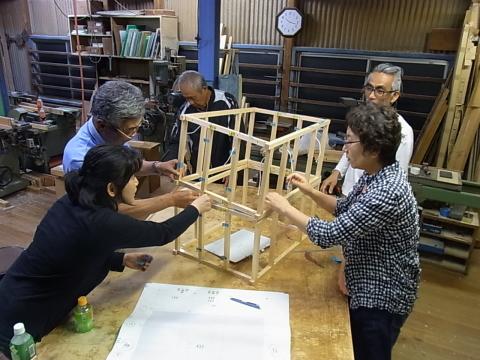 愛媛県建築士会松山支部 南地区・東地区有志による 木造住宅倒壊模型製作_b0186200_06514726.jpg