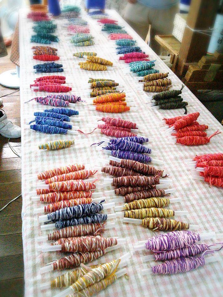 手織り体験をしてきました♪_b0349400_17175320.jpg