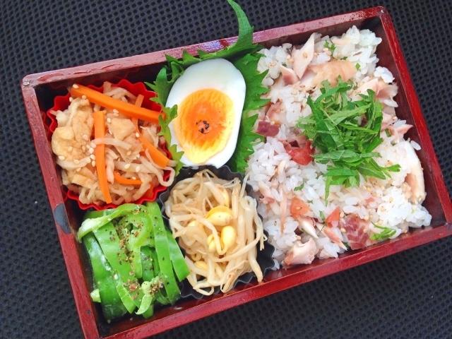 梅干と大葉と「お弁当の傷み防止&食中毒防止 基本7カ条」