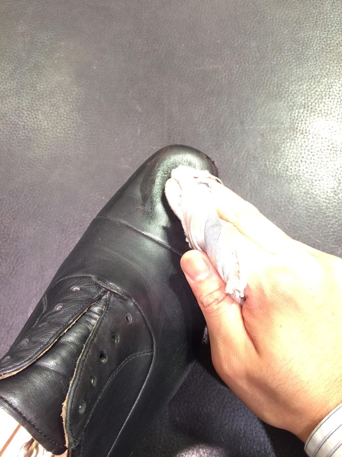 そこそこ履き込んだ靴のお手入れ方法_b0226322_12234193.jpg