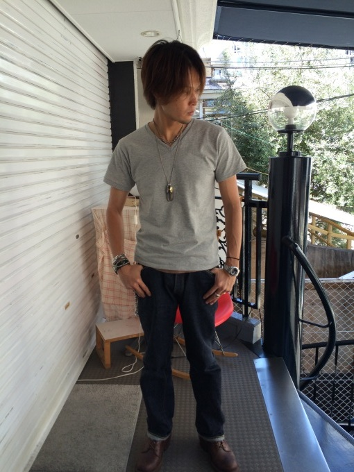 BODY GARD   クルー & Vネック Tシャツ_b0278148_13333450.jpg