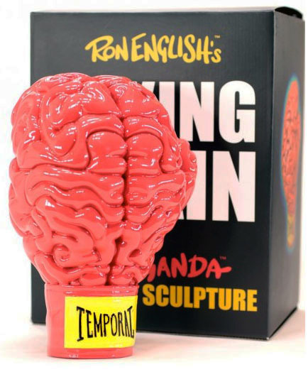 Boxing Brain by Ron English_e0118156_8435285.jpg