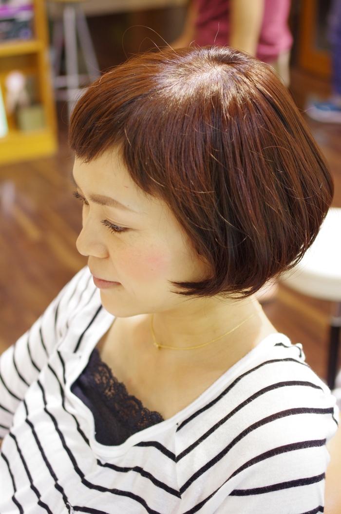 前髪短めボブ!!!_a0272765_17153167.jpg