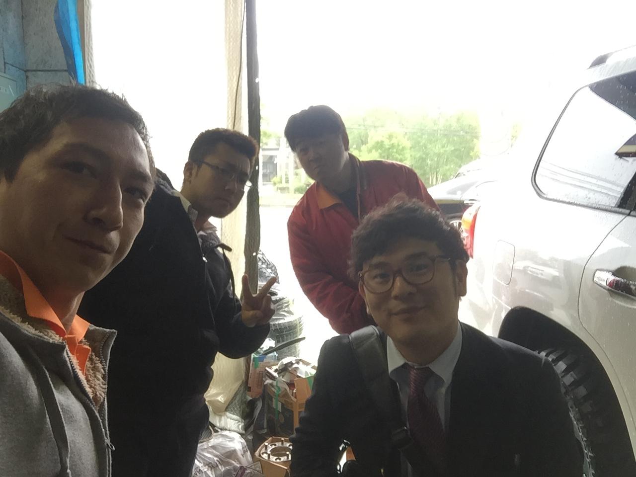 6月5日 金曜日!店長のニコニコブログ!! ランクル ハマーの専門店!_b0127002_21444434.jpg