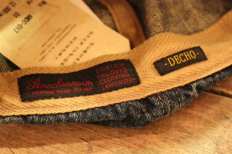 """ANACHRONORM \""""BEAT INITIAL CAPS & HAT by DECHO\"""" ご紹介_f0191324_915934.jpg"""