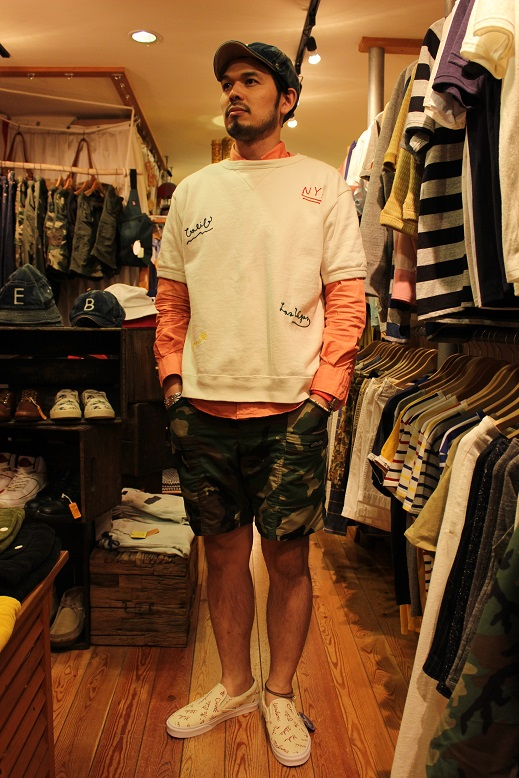 """ANACHRONORM \""""BEAT INITIAL CAPS & HAT by DECHO\"""" ご紹介_f0191324_9164478.jpg"""