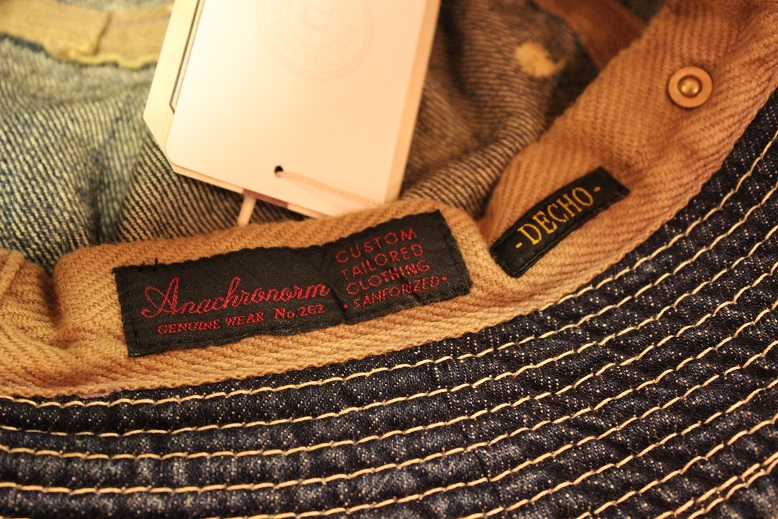 """ANACHRONORM \""""BEAT INITIAL CAPS & HAT by DECHO\"""" ご紹介_f0191324_9173661.jpg"""