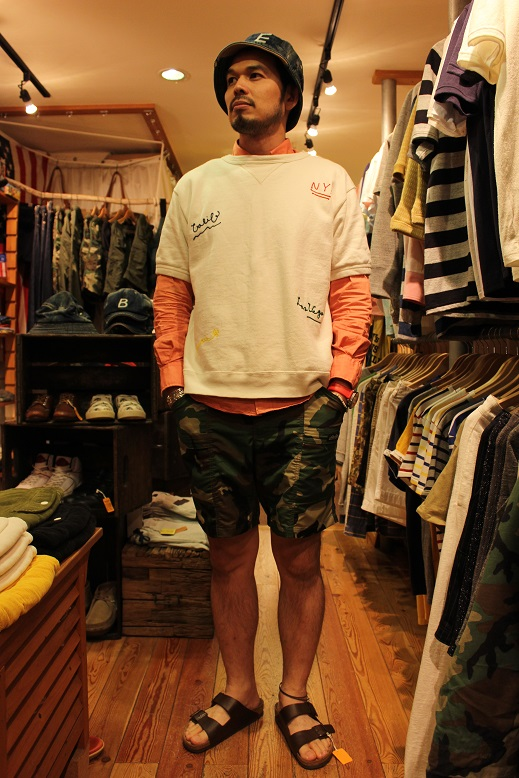 """ANACHRONORM \""""BEAT INITIAL CAPS & HAT by DECHO\"""" ご紹介_f0191324_917592.jpg"""
