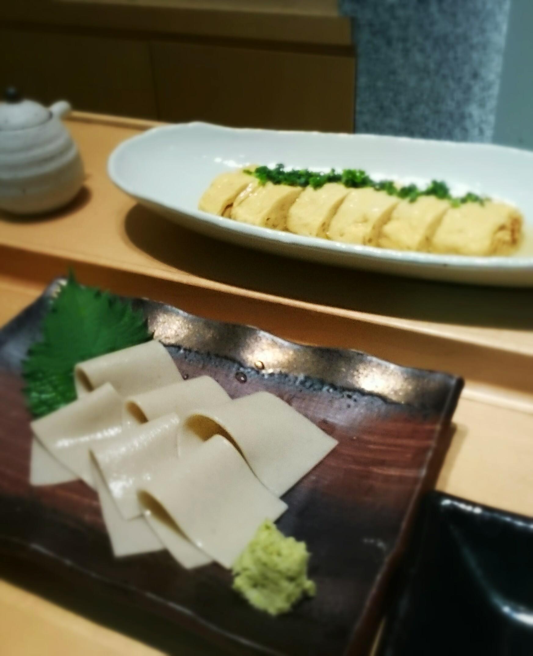 「白いカレーうどん」が人気☆手打ち蕎麦・酒彩 初代@恵比寿_f0236260_15293990.jpg