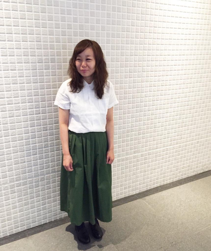 ラップ風スカート_e0272788_16275447.jpg