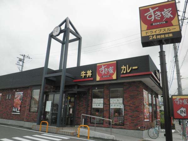 すき家のごまだれ豚丼    宝塚中筋店_c0118393_14363657.jpg