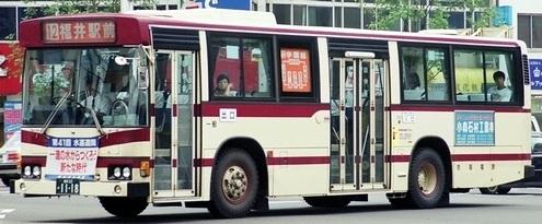 京福電気鉄道 日野P-HT233BA +日野車体_e0030537_21184154.jpg