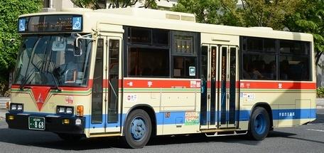 宇部市交通局 いすゞKC-LR333J +IBUS_e0030537_22283574.jpg