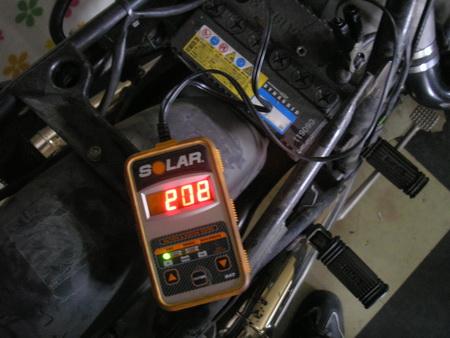 預かり車両のバッテリーの管理_e0218639_11474584.jpg