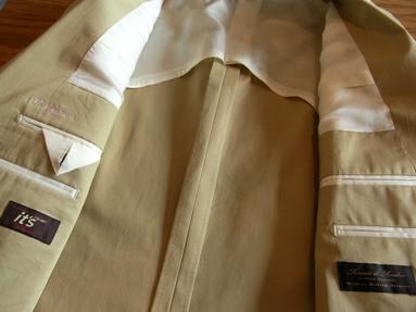 「上質なショートパンツ」&「新型のクールジャケット」 ~ コットン&リネン祭り! 編_c0177259_16413942.jpg