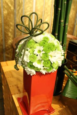 百年蔵 会場装花(花鞠たくさん。)_e0149863_22571169.jpg