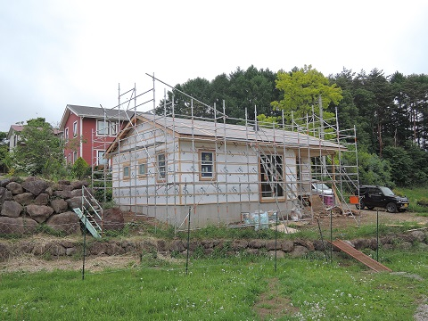高根町K本さん邸の現場より 18_a0211886_2325524.jpg
