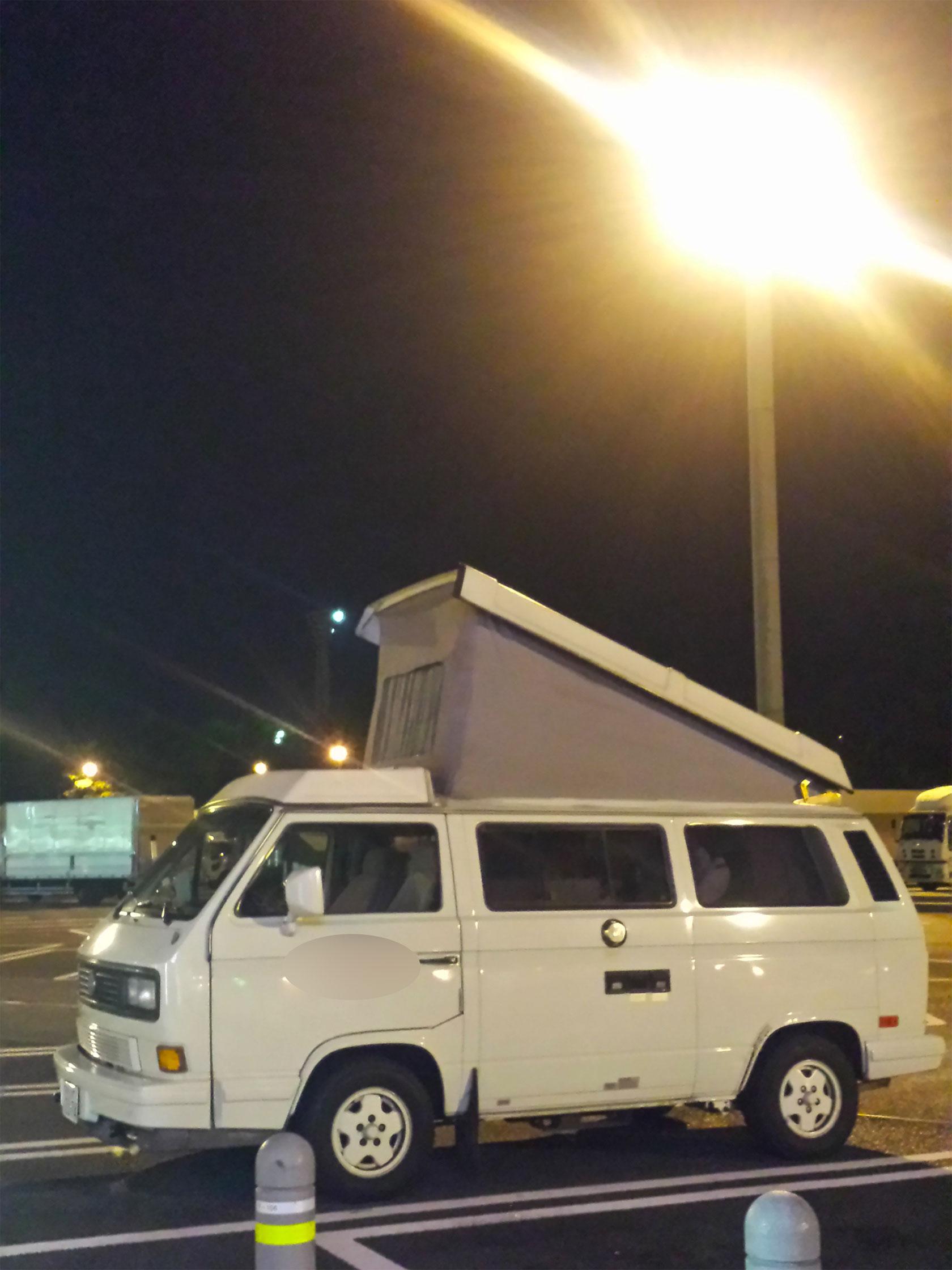 強行静岡、キャンピングカーで初仮眠。_d0224894_0205713.jpg