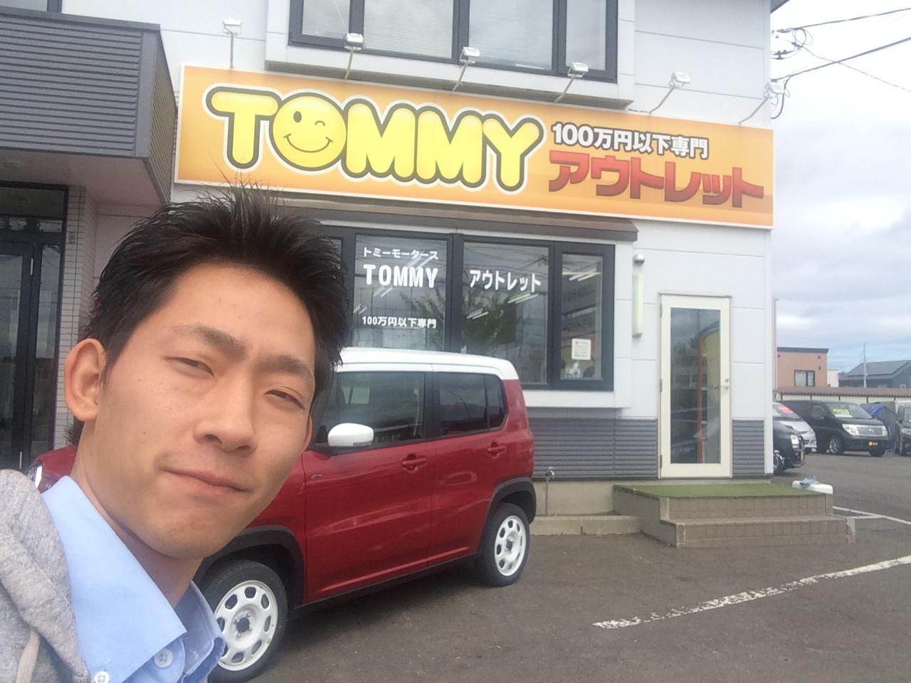 6月7日トミーアウトレット☆祭り!トミー(103円)カーご成約!!ヴィッツU様納車!!_b0127002_17115421.jpg