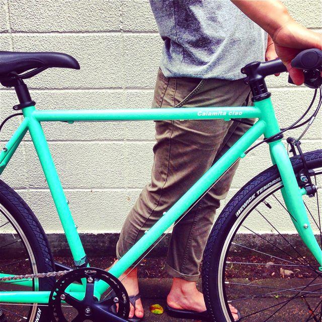 NEWモデル「 Calamita CIAO 」 カラミータ チャオ おしゃれ自転車 クロスバイク 26 自転車ガール_b0212032_2313921.jpg
