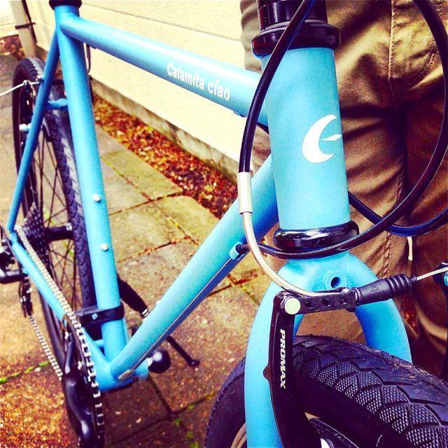 NEWモデル「 Calamita CIAO 」 カラミータ チャオ おしゃれ自転車 クロスバイク 26 自転車ガール_b0212032_2321269.jpg