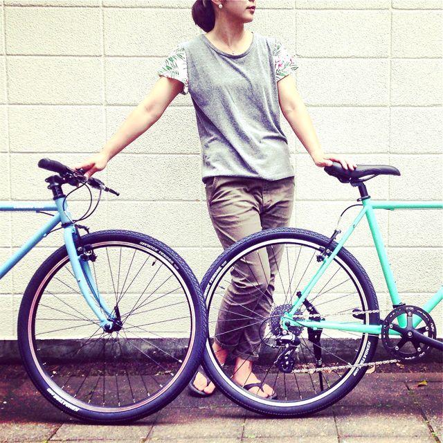 NEWモデル「 Calamita CIAO 」 カラミータ チャオ おしゃれ自転車 クロスバイク 26 自転車ガール_b0212032_2324521.jpg