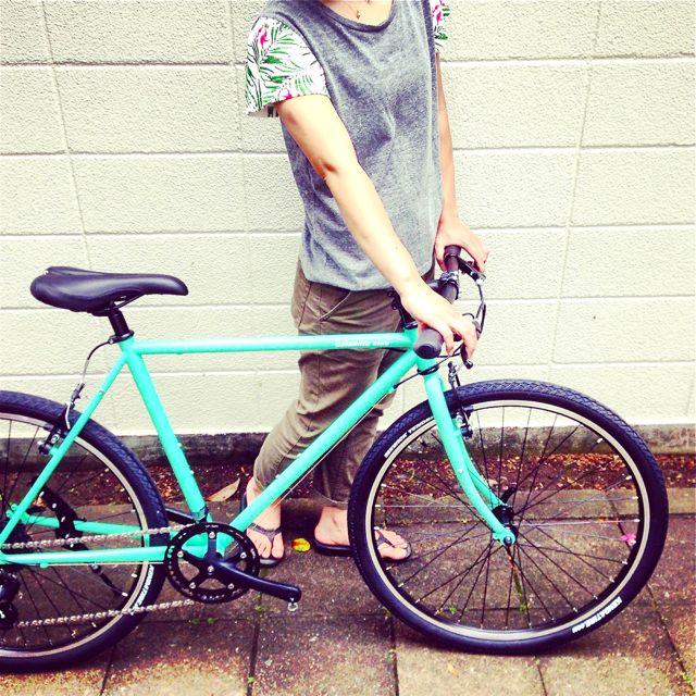 NEWモデル「 Calamita CIAO 」 カラミータ チャオ おしゃれ自転車 クロスバイク 26 自転車ガール_b0212032_233672.jpg