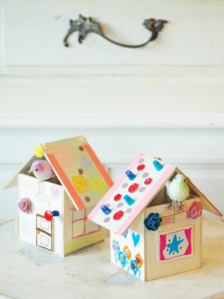 子供と作るバードハウス*_e0172847_08352724.jpg