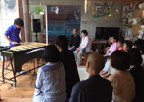 大久保貴之 Vibraphone Concert in Glass Pyramid 2_b0151262_14425497.jpg