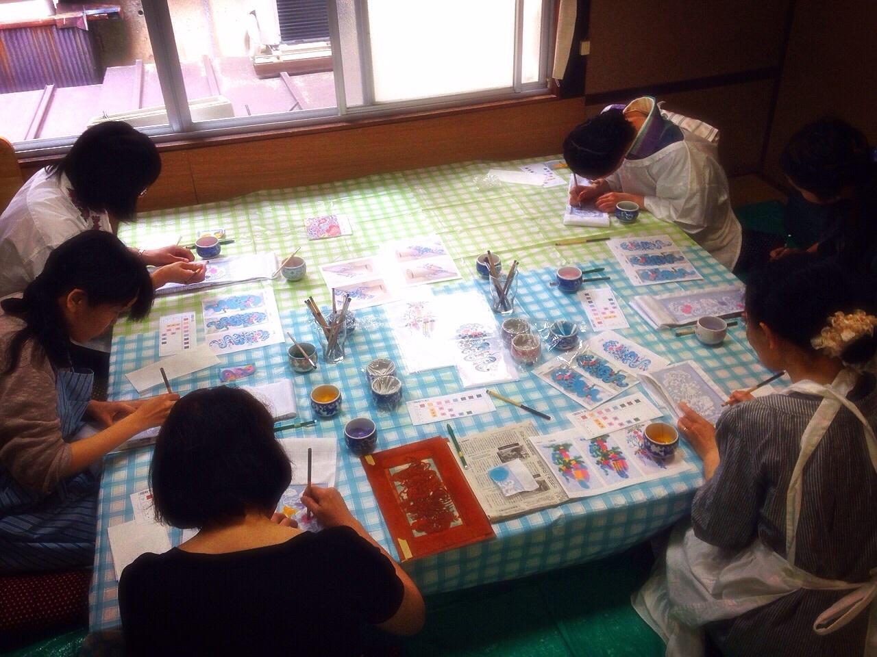 京都で半衿ワークショップしました_a0079315_08480356.jpg