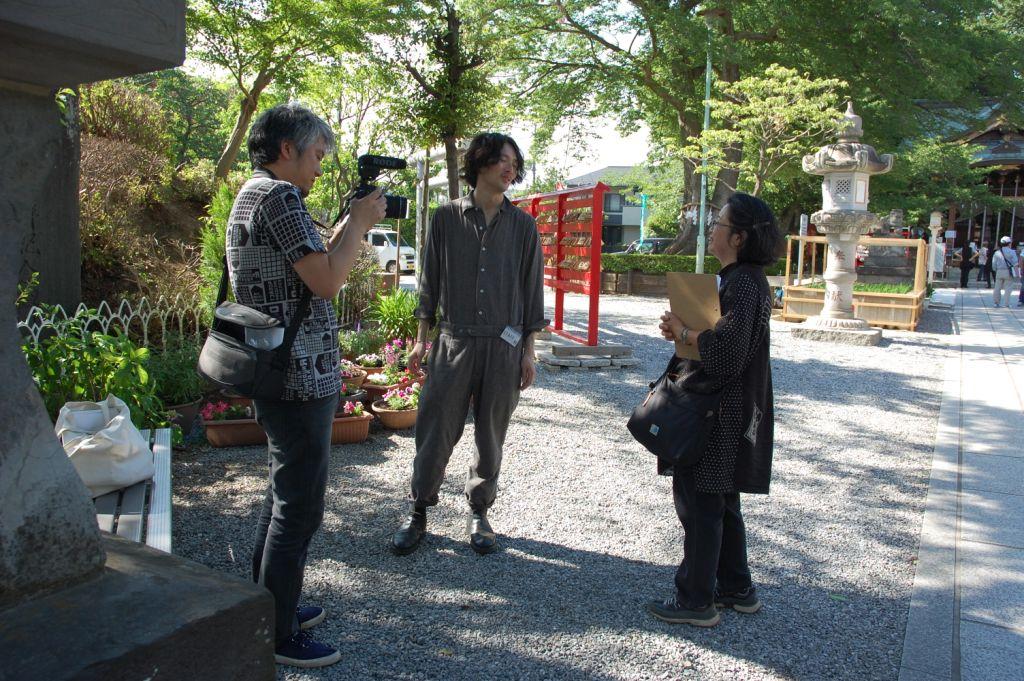 アートさんぽ[アーティストと行く富士塚めぐり]を開催しました_c0222139_0092.jpg