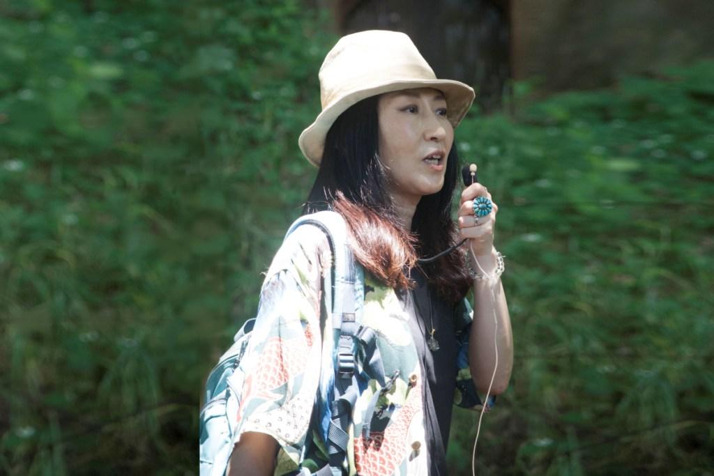 アートさんぽ[アーティストと行く富士塚めぐり]を開催しました_c0222139_23531195.jpg