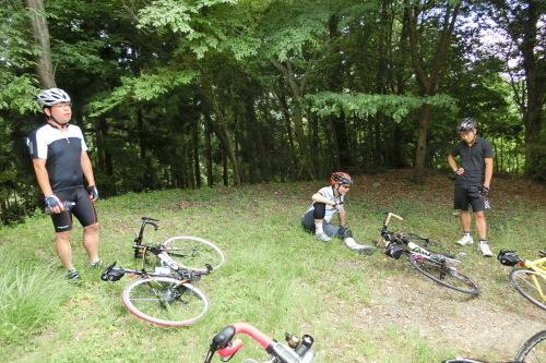 朝サイクリング(ヒルクライムコース)_b0332867_20383113.jpg