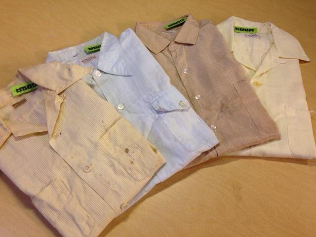 6月10日(水)大阪店夏物ヴィンテージ入荷!!#2 VintageShirt!!BorderCheckStripeSolid!!(大阪アメ村店)_c0078587_12493745.jpg