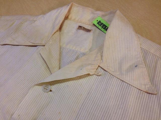 6月10日(水)大阪店夏物ヴィンテージ入荷!!#2 VintageShirt!!BorderCheckStripeSolid!!(大阪アメ村店)_c0078587_12501741.jpg