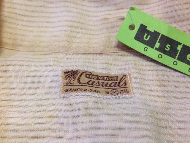 6月10日(水)大阪店夏物ヴィンテージ入荷!!#2 VintageShirt!!BorderCheckStripeSolid!!(大阪アメ村店)_c0078587_125049.jpg