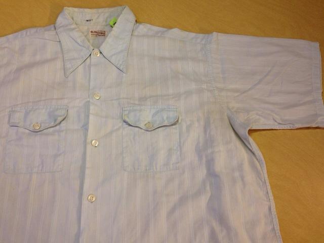 6月10日(水)大阪店夏物ヴィンテージ入荷!!#2 VintageShirt!!BorderCheckStripeSolid!!(大阪アメ村店)_c0078587_1250597.jpg