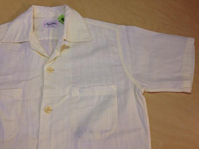6月10日(水)大阪店夏物ヴィンテージ入荷!!#2 VintageShirt!!BorderCheckStripeSolid!!(大阪アメ村店)_c0078587_12525324.jpg
