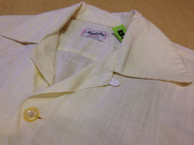 6月10日(水)大阪店夏物ヴィンテージ入荷!!#2 VintageShirt!!BorderCheckStripeSolid!!(大阪アメ村店)_c0078587_1253176.jpg