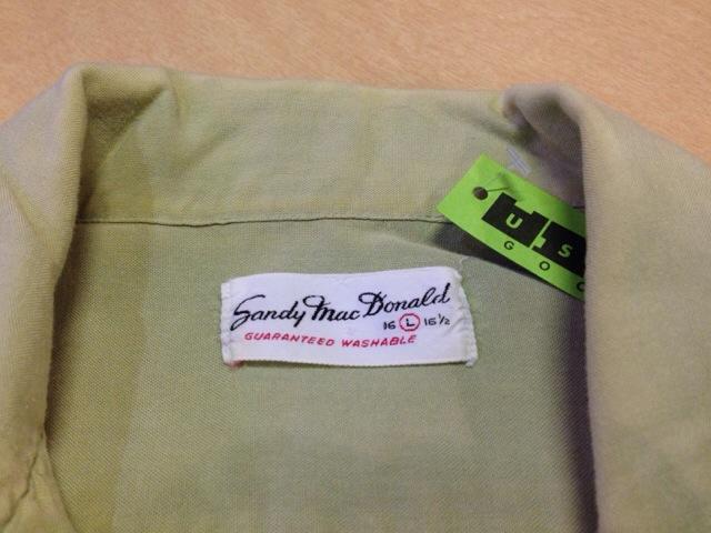 6月10日(水)大阪店夏物ヴィンテージ入荷!!#2 VintageShirt!!BorderCheckStripeSolid!!(大阪アメ村店)_c0078587_12553554.jpg