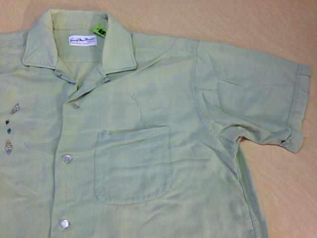 6月10日(水)大阪店夏物ヴィンテージ入荷!!#2 VintageShirt!!BorderCheckStripeSolid!!(大阪アメ村店)_c0078587_12554368.jpg
