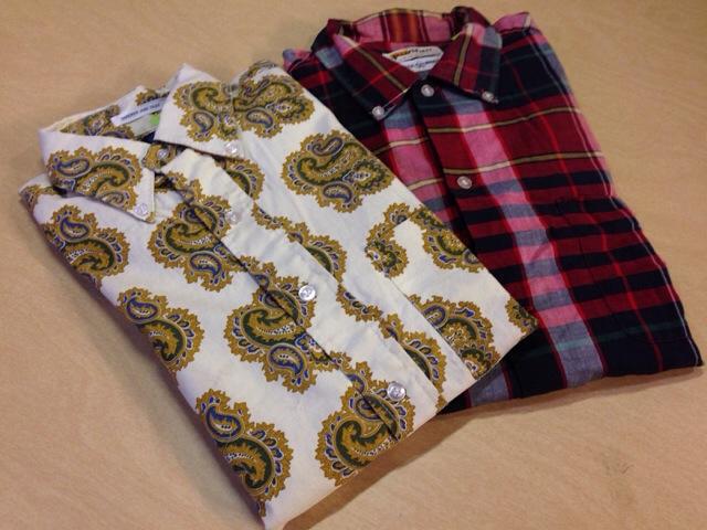 6月10日(水)大阪店夏物ヴィンテージ入荷!!#2 VintageShirt!!BorderCheckStripeSolid!!(大阪アメ村店)_c0078587_1259050.jpg