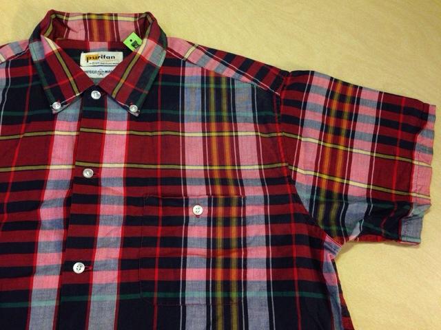6月10日(水)大阪店夏物ヴィンテージ入荷!!#2 VintageShirt!!BorderCheckStripeSolid!!(大阪アメ村店)_c0078587_1301195.jpg