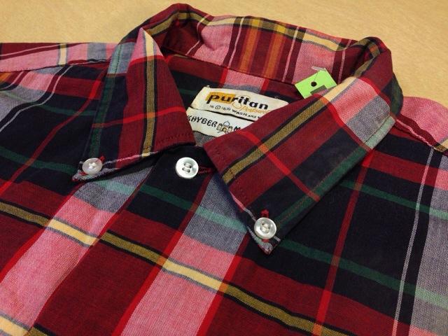 6月10日(水)大阪店夏物ヴィンテージ入荷!!#2 VintageShirt!!BorderCheckStripeSolid!!(大阪アメ村店)_c0078587_1301994.jpg