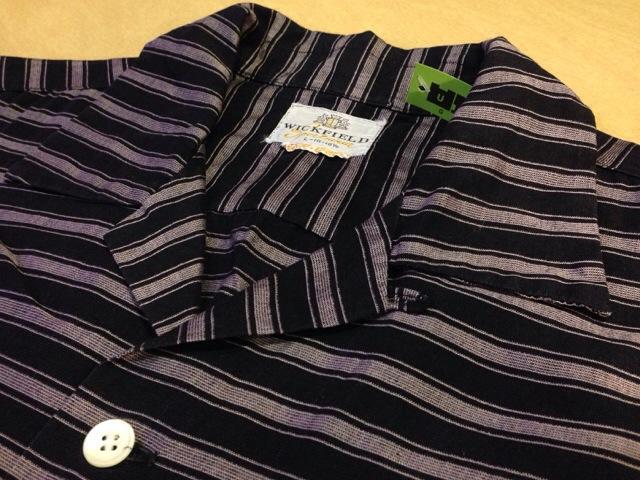 6月10日(水)大阪店夏物ヴィンテージ入荷!!#2 VintageShirt!!BorderCheckStripeSolid!!(大阪アメ村店)_c0078587_1324024.jpg